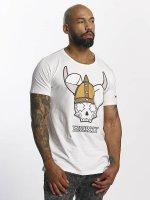 Who Shot Ya? T-Shirt Viking weiß