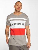 Who Shot Ya? T-shirts PortMorris grå
