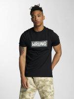 Wrung Division T-Shirt Box noir