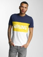 Wrung Division T-Shirt Russell weiß