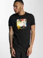 Wrung Division T-Shirty Texture czarny