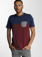 Wrung Division T-Shirty Pocket czerwony
