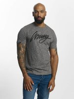 Wrung Division T-Shirty Signature szary