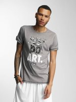Wrung Division T-skjorter Just Do Art grå