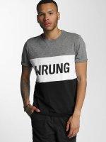Wrung Division T-skjorter Russell svart