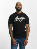Wrung Division T-skjorter Signature svart