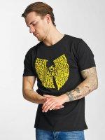 Wu-Tang T-skjorter 25 Years svart