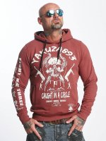 Yakuza Hoody Caught In A Circle rood