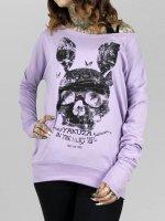 Yakuza Longsleeve Dead Bunny Wide Crew violet