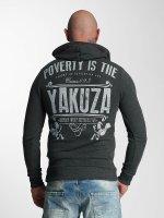 Yakuza Mikiny Poverty šedá