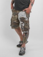 Yakuza Shorts Skull kamouflage