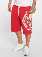 Yakuza Shorts Skull Label red
