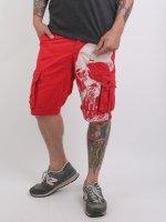 Yakuza Shorts Skull röd