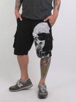 Yakuza shorts Skull zwart