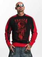 Yakuza Swetry Love Hate czarny
