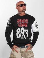 Yakuza Swetry 893 Jumper czarny