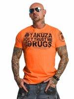 Yakuza T-paidat Trust oranssi