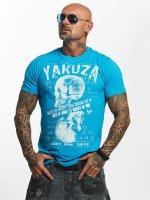 Yakuza T-shirt Love Hate blå