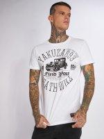 Yakuza T-Shirt Death Will Find You blanc