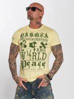 Yakuza T-Shirt World Peace gelb