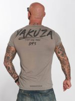 Yakuza t-shirt Burnout grijs