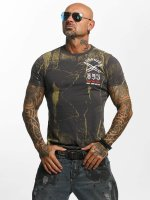 Yakuza T-Shirt Blaze N Glory gris