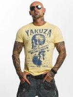Yakuza T-Shirt Love Hate jaune