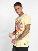 Yakuza T-Shirt Por Que No jaune
