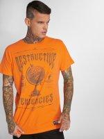 Yakuza T-Shirt Destructive Tendencies orange