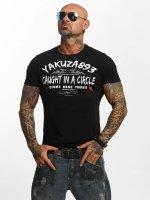 Yakuza T-Shirt Caught In A Circle schwarz