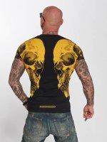 Yakuza T-Shirt Skull V02 schwarz