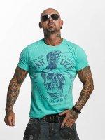 Yakuza T-Shirt Addicted türkis