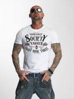 Yakuza T-Shirt Violent Society weiß