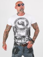 Yakuza T-Shirty Italian Job bialy