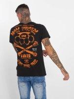 Yakuza T-Shirty Brass Knuckles Crew czarny