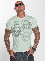 Yakuza T-Shirty Skull Collection zielony