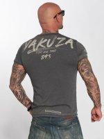 Yakuza T-skjorter Burnout grå