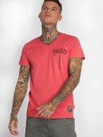 Yakuza T-skjorter Skull V02 lyserosa