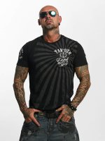 Yakuza T-skjorter Expect No svart