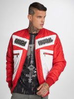 Yakuza Übergangsjacke Authentic Diamond rot