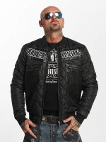 Yakuza Übergangsjacke Authentic Diamond schwarz
