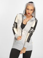 Yakuza Zip Hoodie Long Skull Mixed grey
