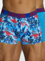 Zaccini  Shorts boxeros Painted Spring azul