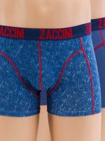 Zaccini Boxerky Denim 2-Pack modrá