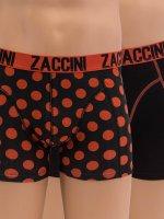 Zaccini Boxerky Royal Dots oranžová