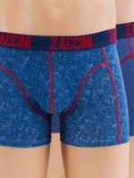 Zaccini boxershorts Denim 2-Pack blauw
