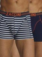 Zaccini boxershorts Stripe 2-Pack blauw