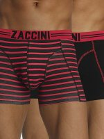 Zaccini Kalsonger Stripe 2-Pack röd