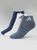adidas originals Strumpor 3-Stripes Per An HC 3-Pairs blå