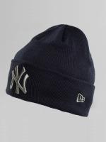 New Era Bonnet League Essential Cuff NY Yankees bleu